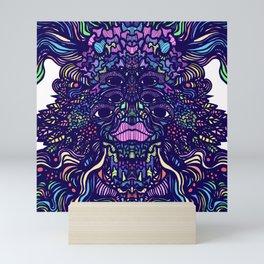 Wood Spirit Colorful Mini Art Print