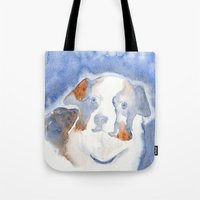 belle Tote Bags featuring Belle by KAZUMI