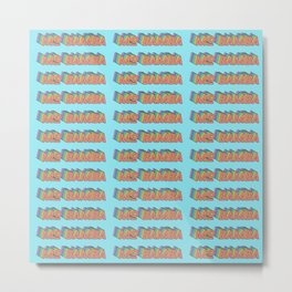 MO BAMBA - Print and Wall Paper Pattern Pop Art Metal Print