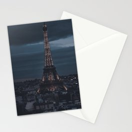 La Tour Eiffel / Nuit Stationery Cards