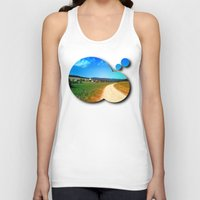 hiking Tank Tops featuring Another lonely hiking trail by Patrick Jobst
