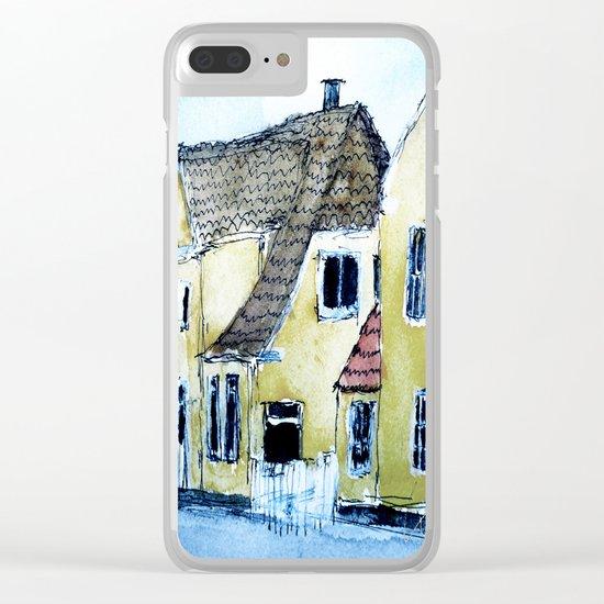 Suburbia Clear iPhone Case