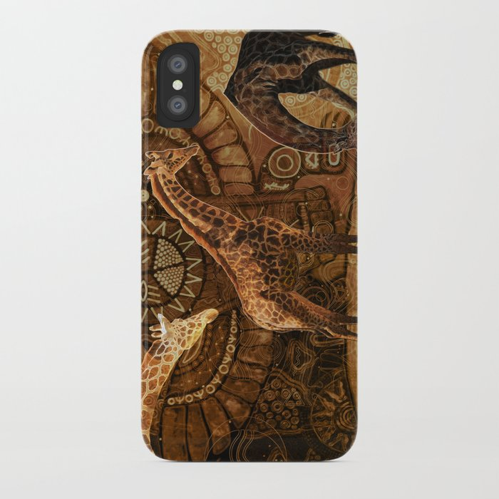 Three Giraffes iPhone Case