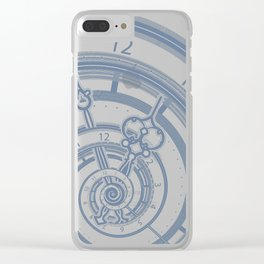 Alice watches 1. Time in Wonderland. Clear iPhone Case