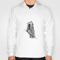 gothic Hoodies featuring Gothic Church by Alessia Pelonzi