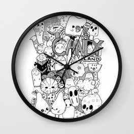 Welcome to Candy land! Wall Clock
