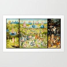 The Garden of Earthly Delights Art Print