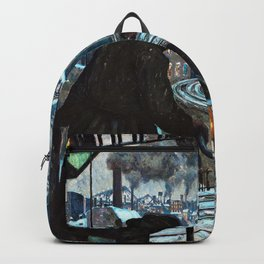 Hans Baluschek - Working-class City - Digital Remastered Edition Backpack