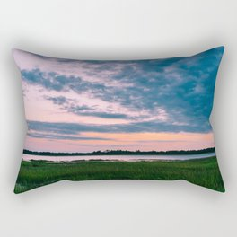 Charleston Sunset Rectangular Pillow
