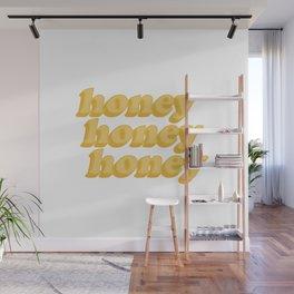 Honey honey honey Wall Mural