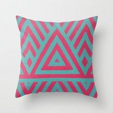Triangle Power Throw Pillow