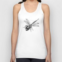 dragonfly Tank Tops featuring Dragonfly by Vilnis Klints