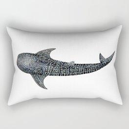 Whale shark Rhincodon typus Rectangular Pillow