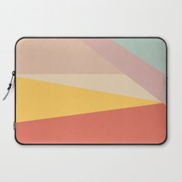 Retro Abstract Geometric Laptop Sleeve