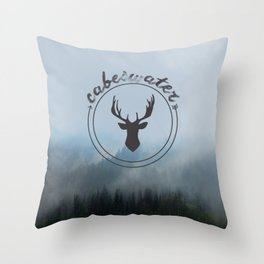 The Raven Cycle - Cabeswater (Woods) Throw Pillow