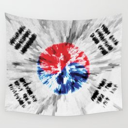 Extruded flag of South Korea Wall Tapestry