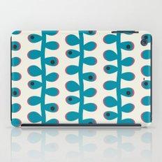 Like a Leaf [blue spots] iPad Case