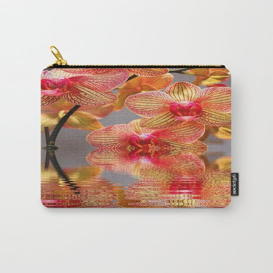 Orchid Reflections Carry-All Pouch