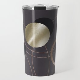 Golden Eclipses Travel Mug