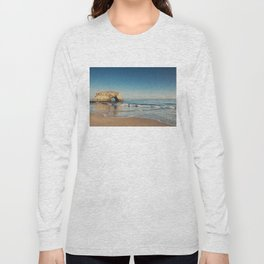 Natural Bridges State Beach ... Long Sleeve T-shirt