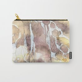 Softness - Abstract Natural Ink Watercolour Carry-All Pouch