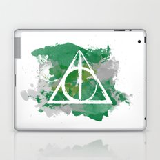 The Deathly Hallows (Slytherin) Laptop & iPad Skin