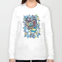 pigeon Long Sleeve T-shirts featuring pigeon by CAPTAIN WEEKEND