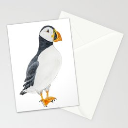 Cute Puffin Stationery Cards