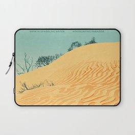 Sandbanks Provincial Park Poster Laptop Sleeve