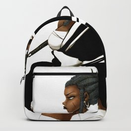 Black Butterfly 1 Backpack