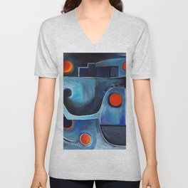 Blood Moon Unisex V-Neck