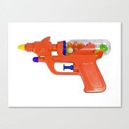 Candy Gun Canvas Print