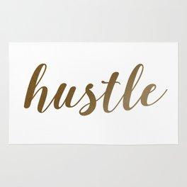 Hustle in Glitter Rug