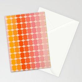 Strawberry Dots Stationery Cards