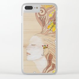Lost in Dreaming Clear iPhone Case