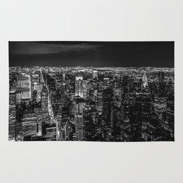 Manhattan. Black and white Rug