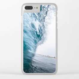 Beautiful Wave Crash Clear iPhone Case