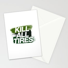 Kill All Tires v4 HQvector Stationery Cards