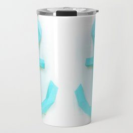 simply paper anchor Travel Mug