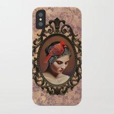 Dame Kardinal iPhone X Slim Case