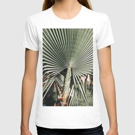 For the love of palm trees   Italy travel photography print   Summer time T-shirt