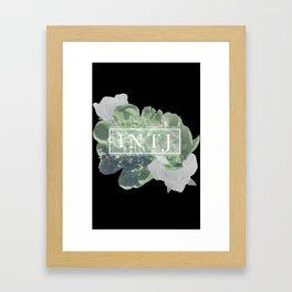 Yes. I am an INTJ (Green) Framed Art Print