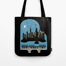 Rhapsody in Blue - Gershwin Tote Bag