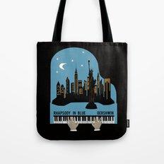 Rhapsody in Blue - Gershwin Tote Bag