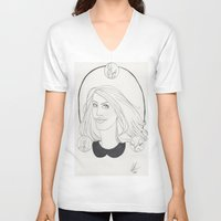 lydia martin V-neck T-shirts featuring Lydia by Wolfhearted