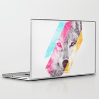 eric fan Laptop & iPad Skins featuring Wild 2 by Eric Fan & Garima Dhawan by Garima Dhawan