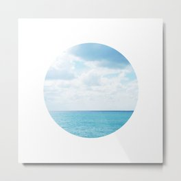 Spotting the Sea Metal Print