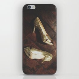 Golden Shoes iPhone Skin