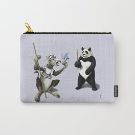Donkey Xote and Sancho Panda (Colour) Carry-All Pouch