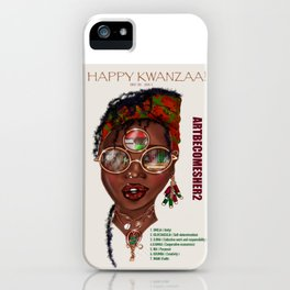 Happy Kwanzaa Gifts and Cards iPhone Case